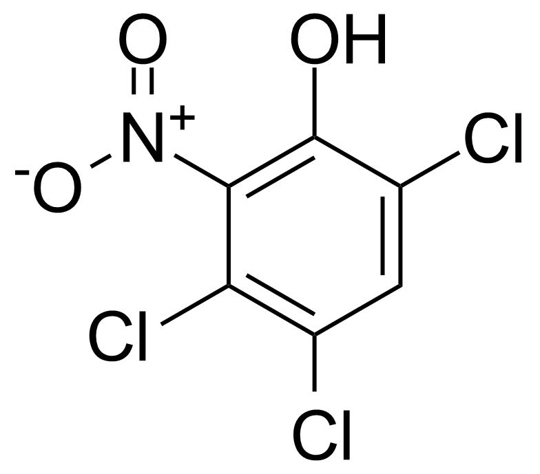 Structure of 6-Nitro-2,4,5-trichlorophenol