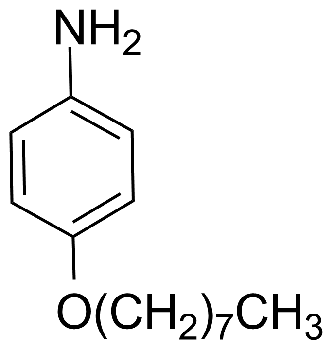 Structure of 4-Octyloxyaniline