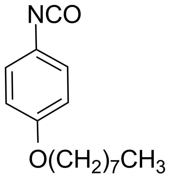 Structure of 4-(Octyloxy)phenyl isocyanate