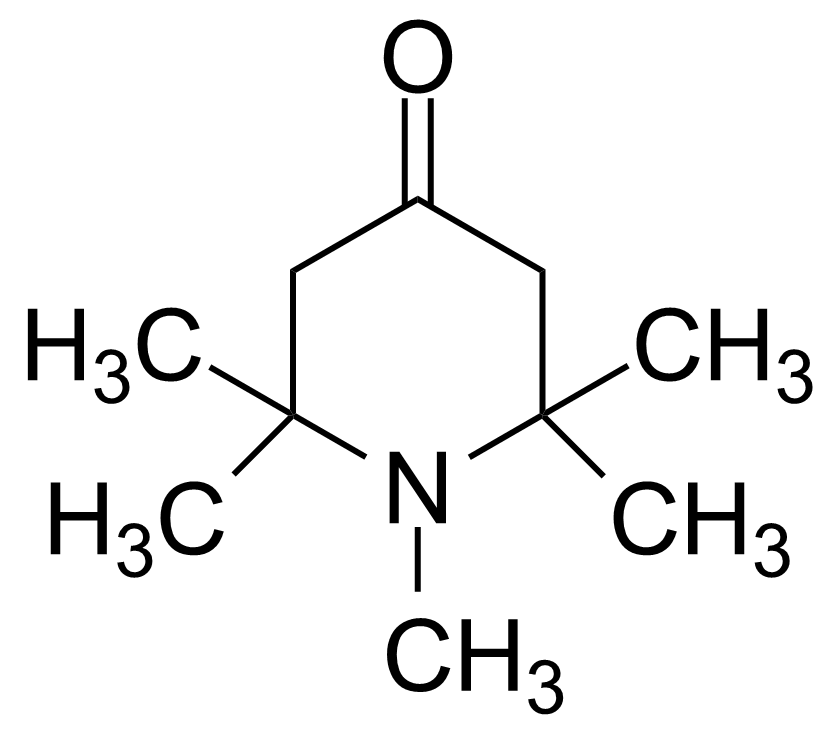 Structure of 1,2,2,6,6-Pentamethyl-4-piperidone
