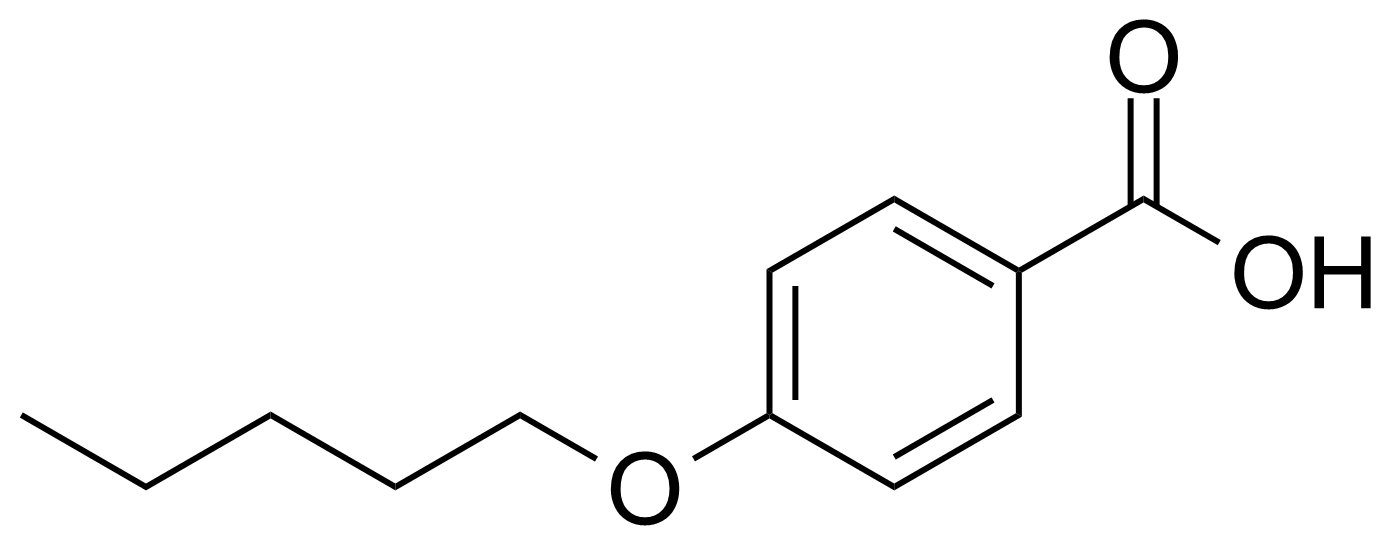 Structure of 4-n-Pentyloxybenzoic acid