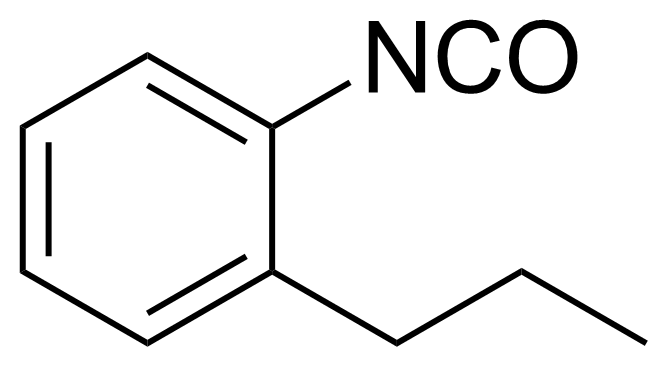 Structure of 2-n-Propylphenyl isocyanate