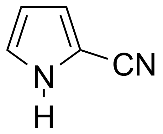 Structure of Pyrrole-2-carbonitrile