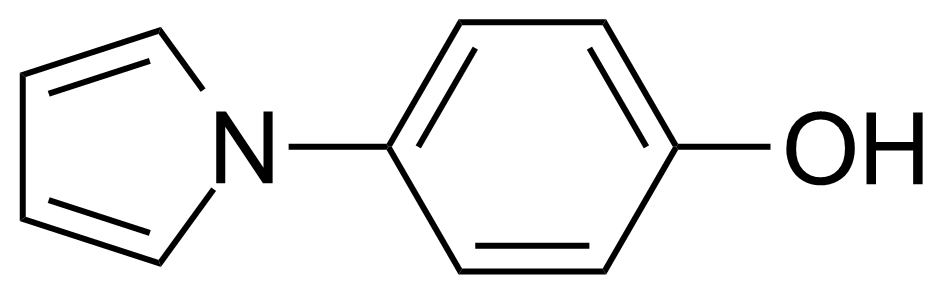 Structure of 4-(1H-Pyrrol-1-yl)phenol