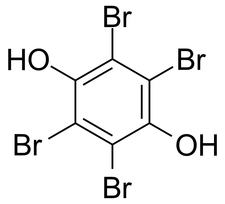 Structure of Tetrabromohydroquinone