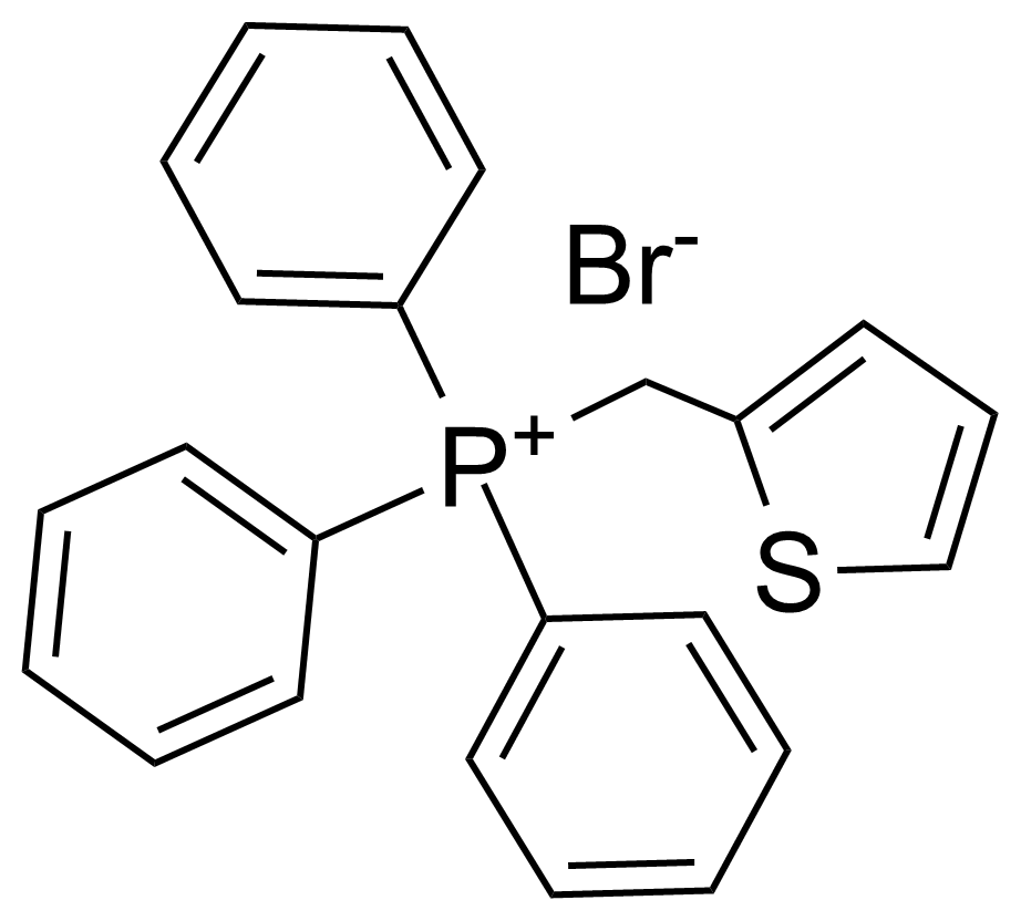 Structure of (Thiophen-2-yl)methyltriphenylphosphonium bromide
