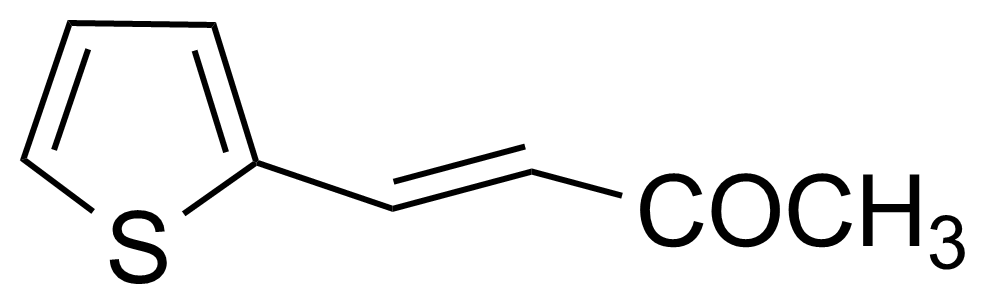Structure of 4-(2-Thienyl)-3-buten-2-one (mixt. of cis and trans)