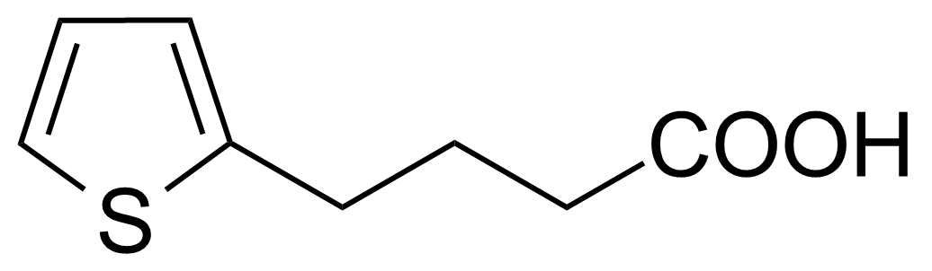 Structure of 4-(2-Thienyl)butyric acid