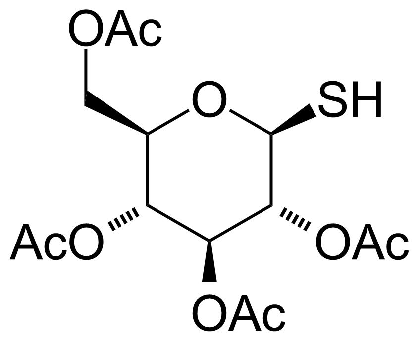 Structure of 1-Thio-beta-D-glucose tetraacetate