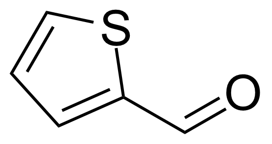 Structure of 2-Thiophenecarboxaldehyde