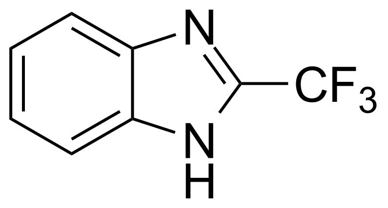 Structure of 2-(Trifluoromethyl)benzimidazole