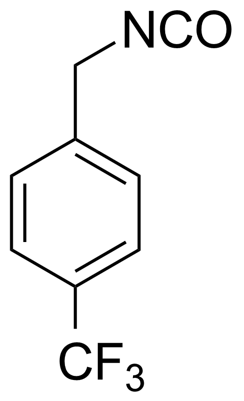 Structure of 4-(Trifluoromethyl)benzyl isocyanate