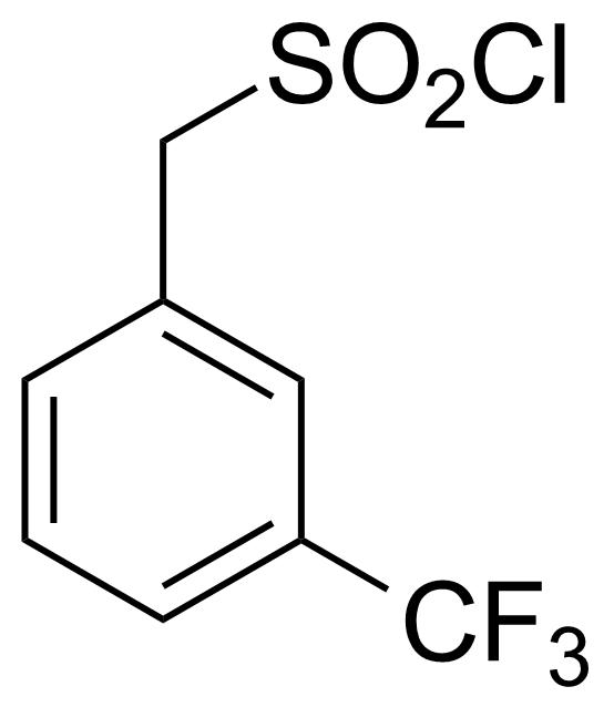 Structure of [3-(Trifluoromethyl)phenyl]methanesulfonyl chloride