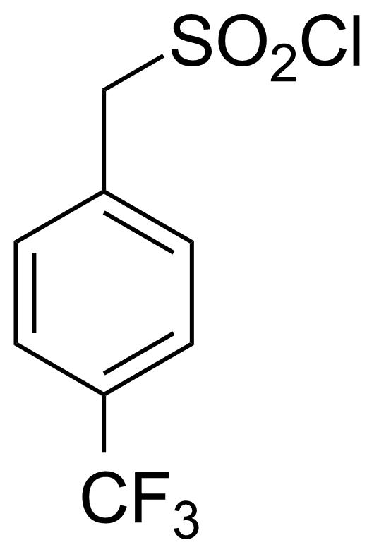 Structure of [4-(Trifluoromethyl)phenyl]methanesulfonyl chloride