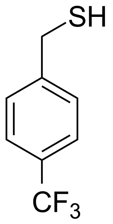 Structure of 4-(Trifluoromethyl)phenylmethanethiol
