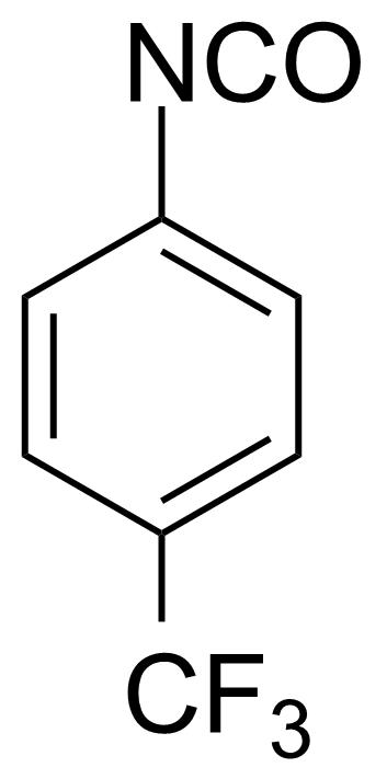 Structure of 4-(Trifluoromethyl)phenyl isocyanate