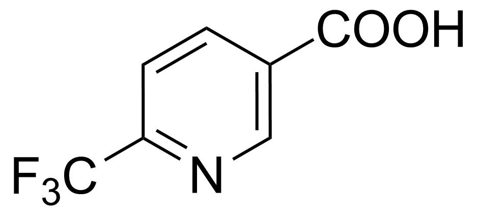 Structure of 6-(Trifluoromethyl)nicotinic acid