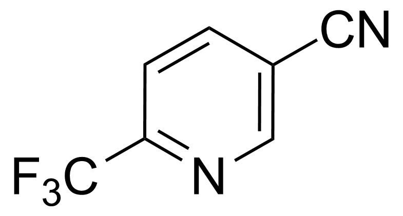 Structure of 6-(Trifluoromethyl)nicotinonitrile