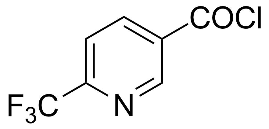 Structure of 6-(Trifluoromethyl)nicotinoyl chloride