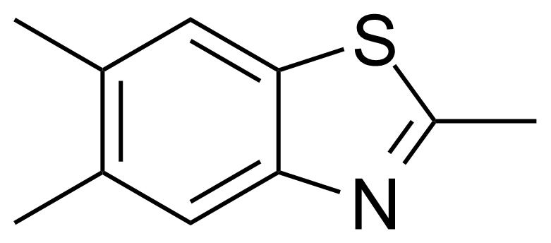 Structure of 2,5,6-Trimethylbenzothiazole