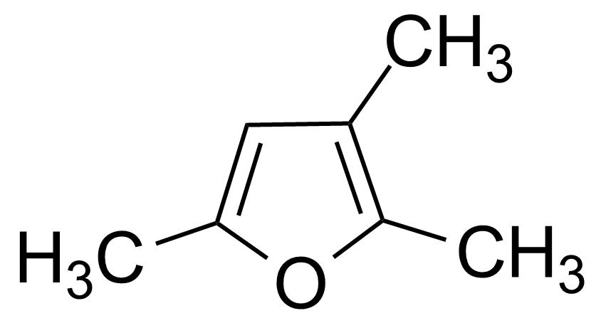 Structure of 2,3,5-Trimethylfuran