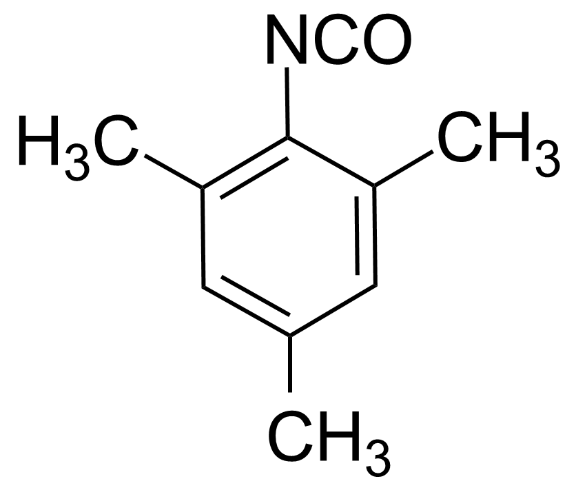 Structure of 2,4,6-Trimethylphenyl isocyanate
