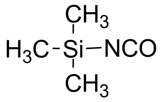 Structure of Trimethylsilyl isocyanate