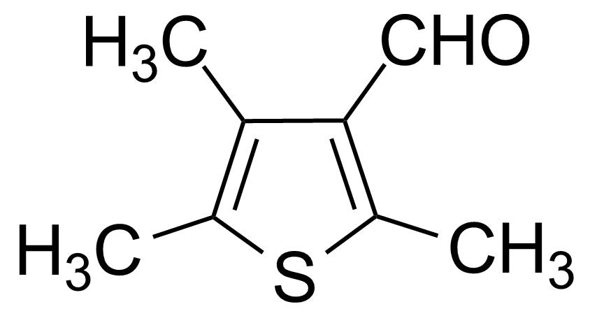Structure of 2,4,5-Trimethylthiophene-3-carboxaldehyde