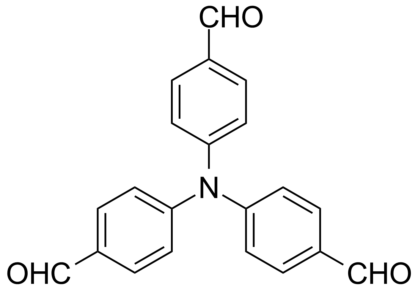 Structure of Tris(4-formylphenyl)amine