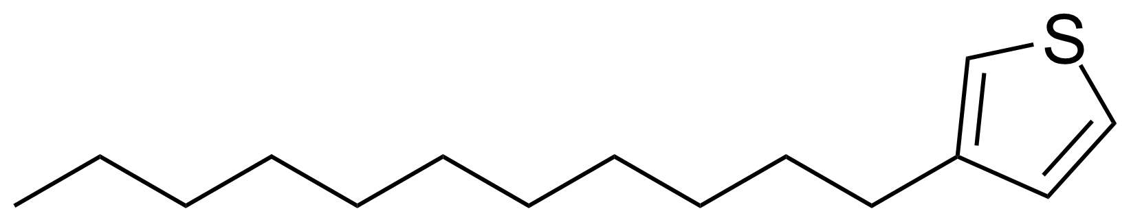 Structure of 3-Undecylthiophene