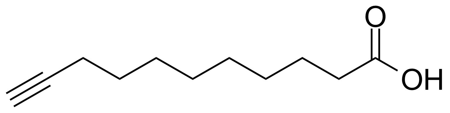 Structure of 10-Undecynoic acid