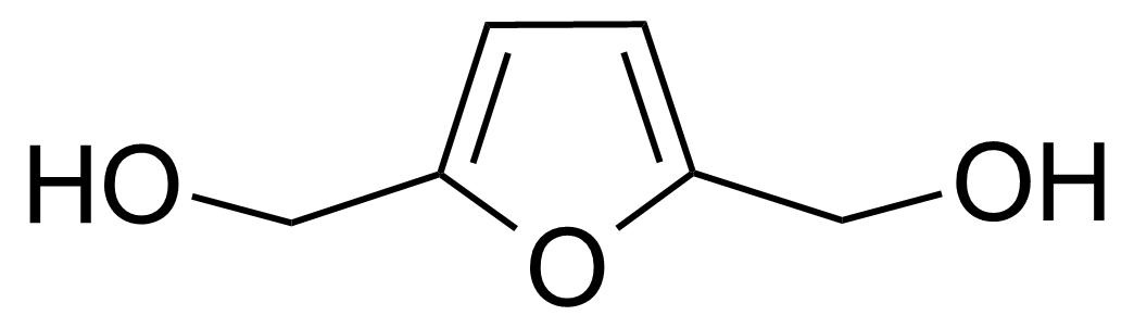 Structure of 5-(Hydroxymethyl)furfuryl alcohol