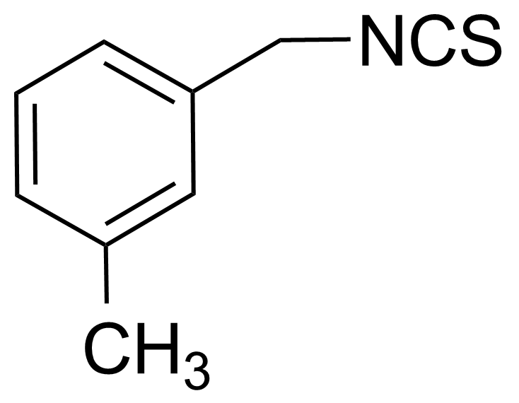Structure of 3-Methylbenzyl isothiocyanate