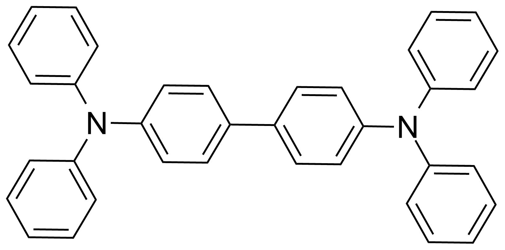 Structure of N,N,N',N'-Tetraphenyl-1,1'-biphenyl-4,4'-diamine