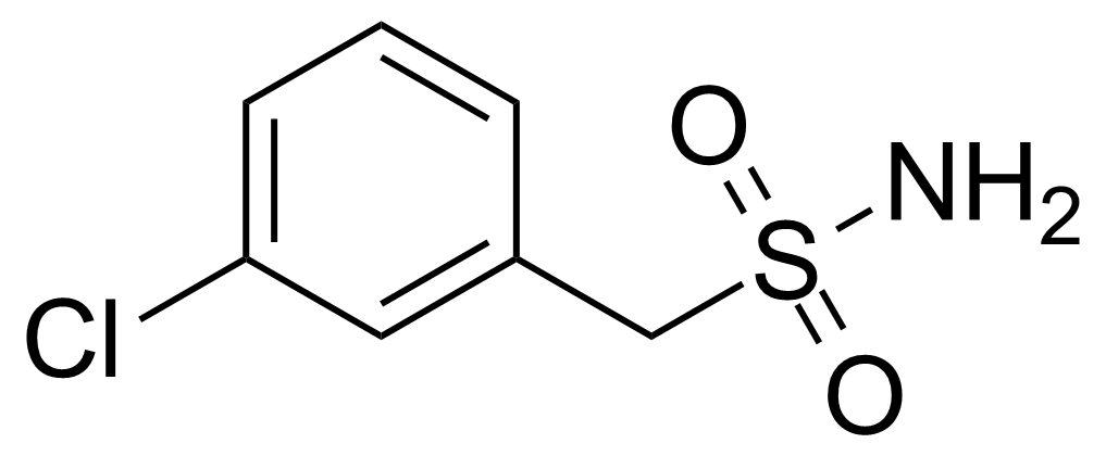 Structure of 3-Chlorobenzylsulphonamide