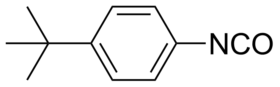 Structure of 4-tert-Butylphenyl isocyanate