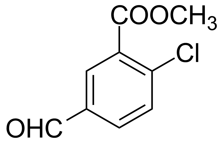 Structure of Methyl 2-Chloro-5-formylbenzoate