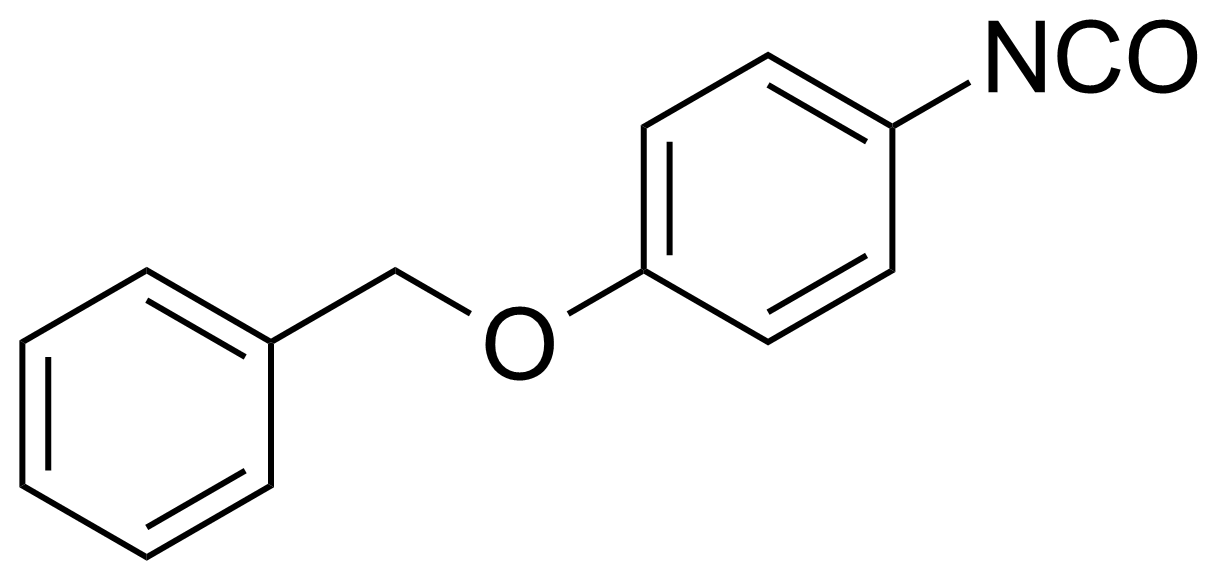 Structure of 4-Benzyloxyphenyl isocyanate
