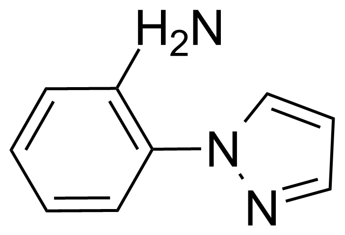 Structure of 2-(1H-Pyrazol-1-yl)aniline