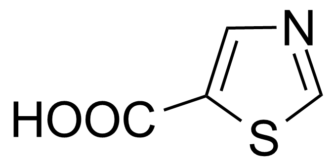 Structure of Thiazole-5-carboxylic acid