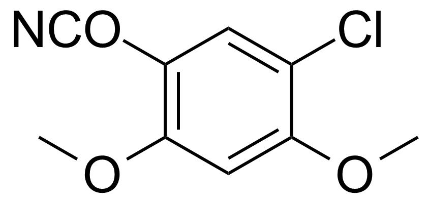 Structure of 5-Chloro-2,4-dimethoxyphenyl isocyanate