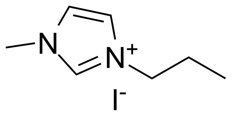 Structure of 1-Methyl-3-propylimidazolium iodide