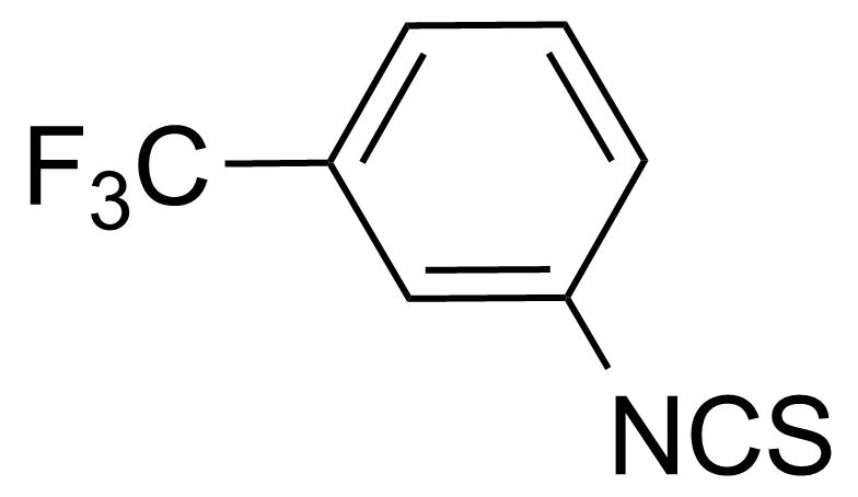 Structure of 3-(Trifluoromethyl)phenyl isothiocyanate