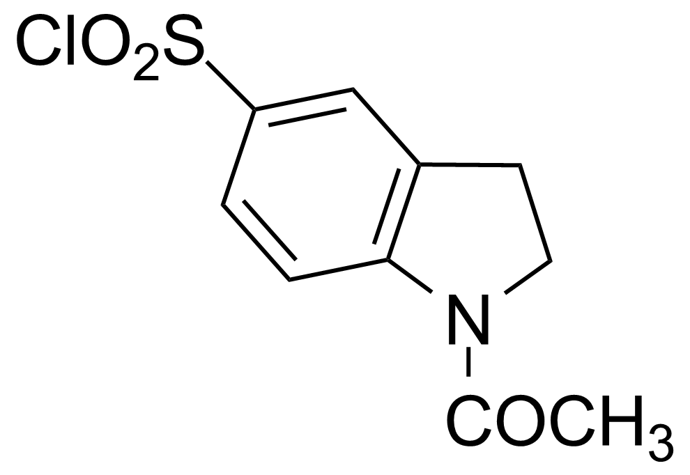 Structure of 1-Acetyl-5-indolinesulfonoyl chloride