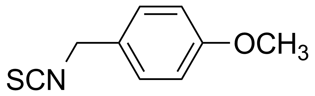 Structure of 4-Methoxybenzyl isothiocyanate