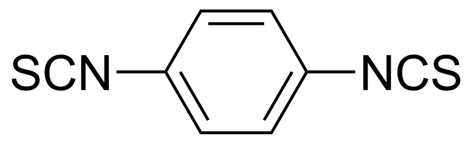 Structure of 1,4-Phenylene diisothiocyanate