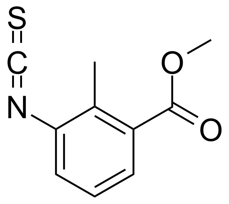 Structure of 3-Isothiocyanato-2-methylbenzoic acid methyl ester