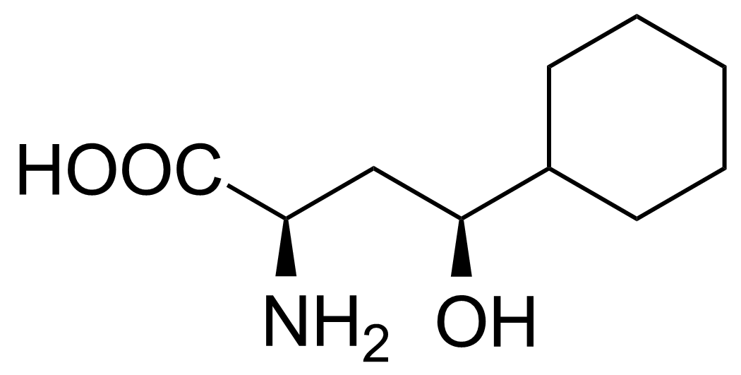 Structure of (2R,4S)-2-Amino-4-cyclohexyl-4-hydroxybutanoic acid