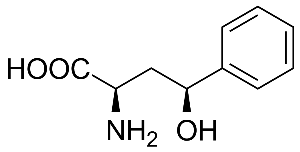 Structure of (2R,4S)-2-Amino-4-hydroxy-4-phenylbutanoic acid
