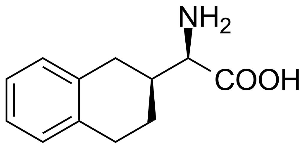 Structure of (2R,2'S)-Amino-(1',2',3',4'-tetrahydronaphthalen-2'-yl)ethanoic acid